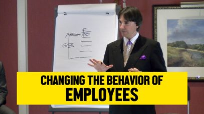 Changing the Behavior of Employees