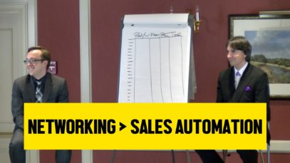 Networking is Better Than Sales Automation